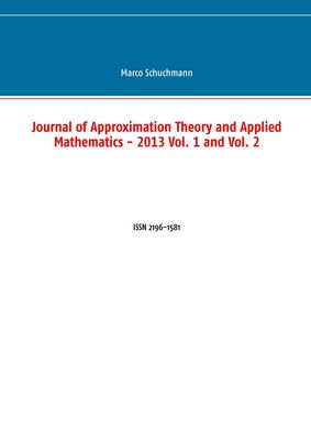Journal of Approximation Theory and Applied Mathematics - 2013 Vol. 1 and Vol. 2