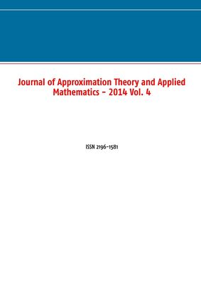 Journal of Approximation Theory and Applied Mathematics - 2014 Vol. 4