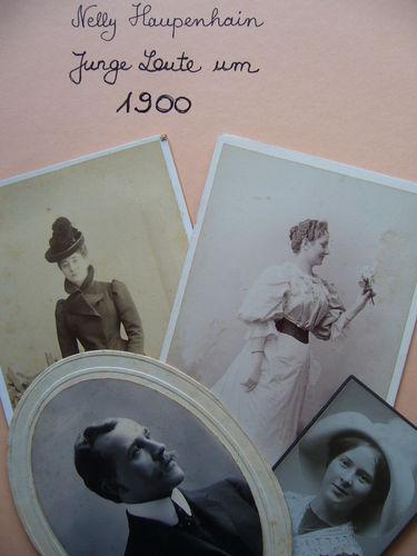 Junge Leute um 1900