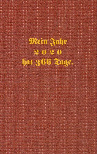 Kalenderbuch 2020