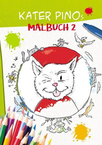 Kater Pinos Malbuch 2