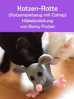 Katzen-Ratte (Katzenspielzeug mit Catnip)