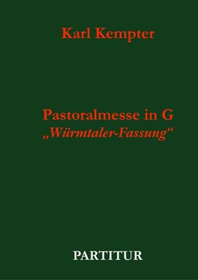 Kempter: Pastoralmesse in G