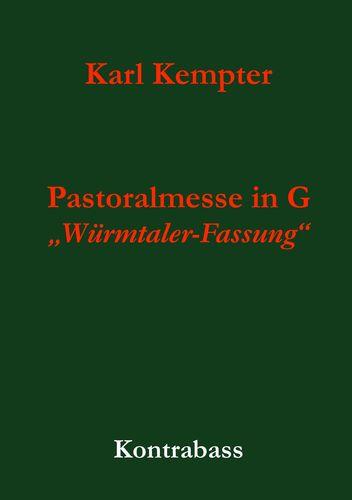 Kempter: Pastoralmesse in G. Kontrabass