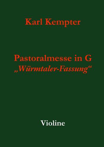 Kempter: Pastoralmesse in G. Violine