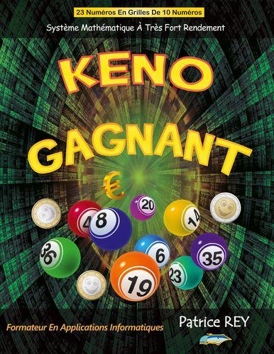 KENO Gagnant 23 Numeros Grilles de 10