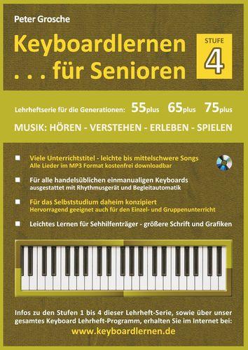 Keyboardlernen für Senioren (Stufe 4)