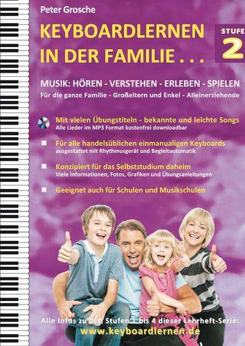 Keyboardlernen in der Familie (Stufe 2)