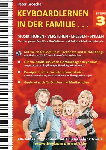 Keyboardlernen in der Familie (Stufe 3)