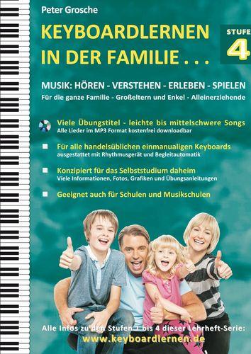 Keyboardlernen in der Familie (Stufe 4)