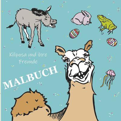 Kiliposa und ihre Freunde - Malbuch -