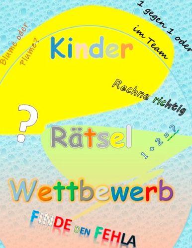 Kinder Rätsel Wettbewerb