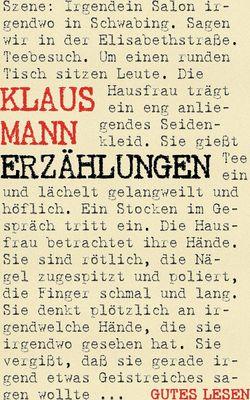 Klaus Mann - Erzählungen