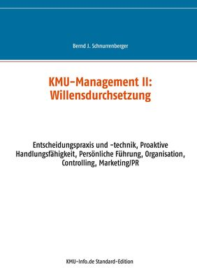 KMU-Management II: Willensdurchsetzung
