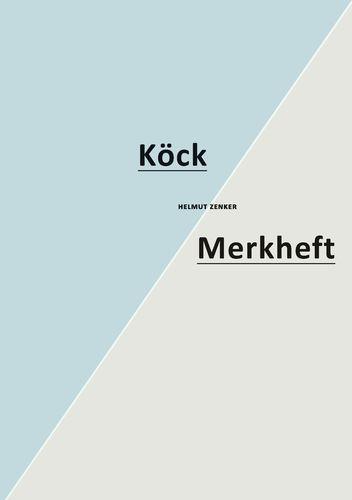 Köck / Merkheft