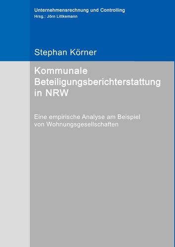 Kommunale Beteiligungsberichterstattung in NRW