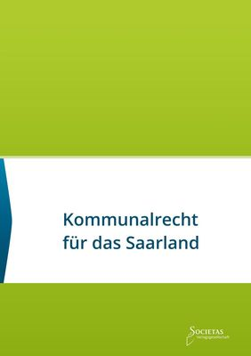 Kommunalrecht für das Saarland