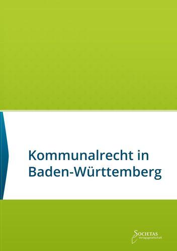 Kommunalrecht in Baden-Württemberg