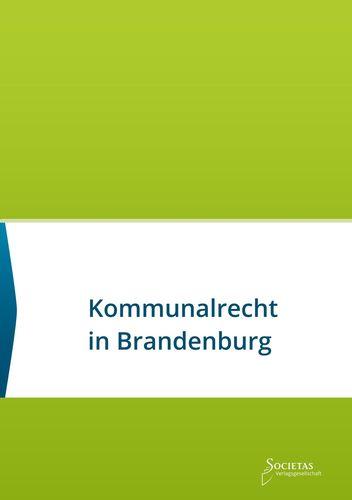 Kommunalrecht in Brandenburg