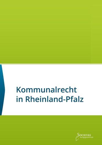 Kommunalrecht in Rheinland-Pfalz