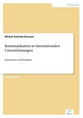 Kommunikation in internationalen Unternehmungen