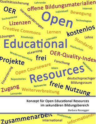 Konzept für Open Educational Resources im sekundären Bildungsbereich