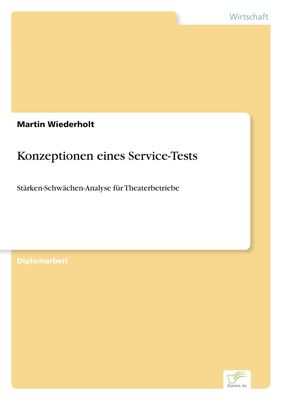 Konzeptionen eines Service-Tests