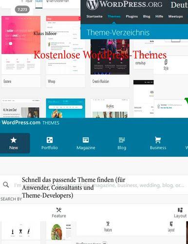 Kostenlose WordPress-Themes