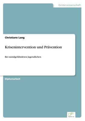 Krisenintervention und Prävention