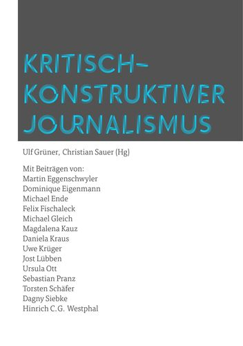 Kritisch-konstruktiver Journalismus