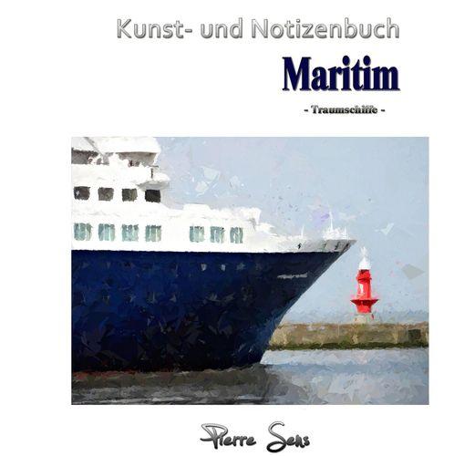Kunst- und Notizenbuch Maritim
