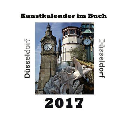 Kunstkalender im Buch - Düsseldorf 2017