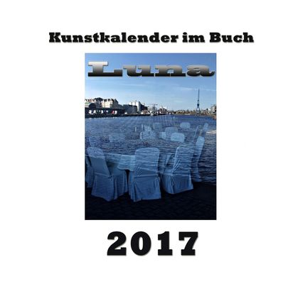 Kunstkalender im Buch - Luna 2017