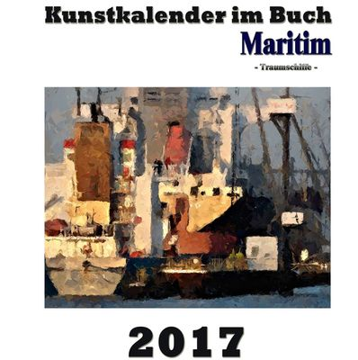 Kunstkalender im Buch Maritim 2017
