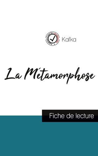 La Métamorphose de Kafka (fiche de lecture et analyse complète de l'oeuvre)