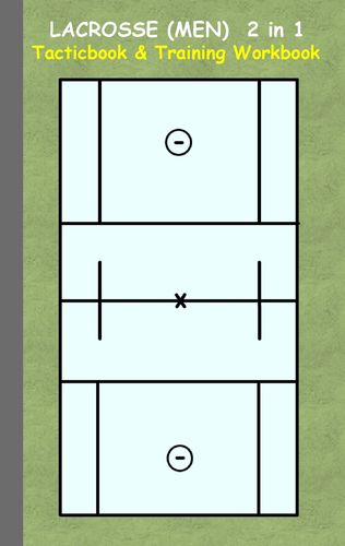 Lacrosse (Men) 2 in 1 Tacticboard and Training Workbook