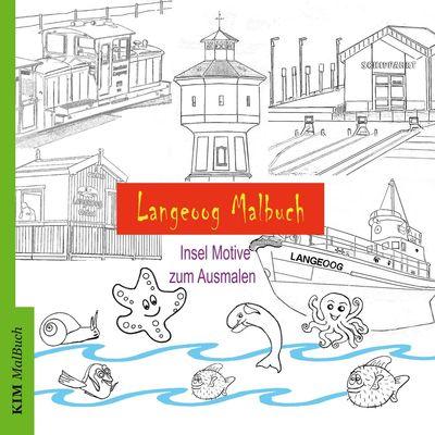 Langeoog Malbuch