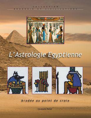 L'astrologie égyptienne brodée au point de croix