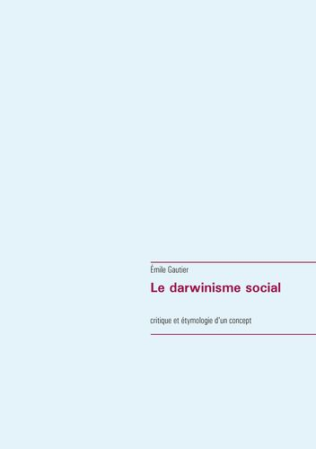 Le darwinisme social