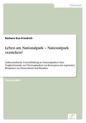 Leben am Nationalpark – Nationalpark verstehen?