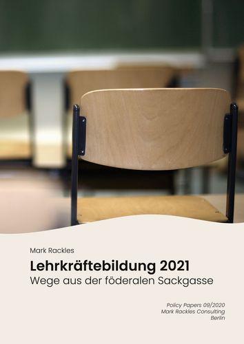 Lehrkräftebildung 2021