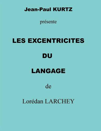 les excentricités du langage