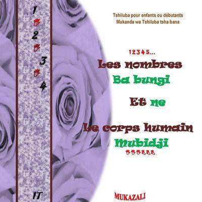 Les nombres ba bungi  et ne  le corps humain mubidji nouvelle edition
