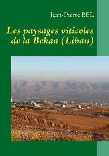 Les paysages viticoles de la Bekaa (Liban)