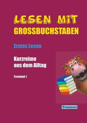 Lesen mit Großbuchstaben Tresiemi 1