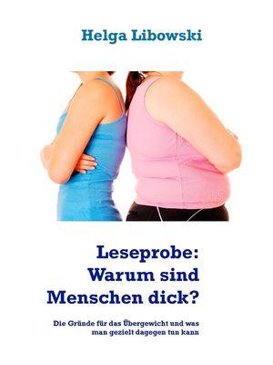 Leseprobe: Warum sind Menschen dick?