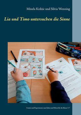 Lia und Timo untersuchen die Sinne
