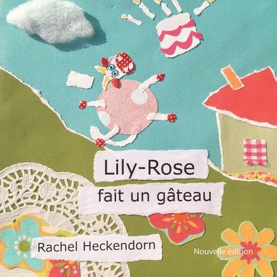Lily-Rose fait un gâteau