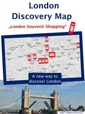 London Discovery Maps - a different London guide