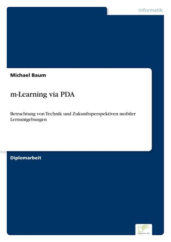 m-Learning via PDA